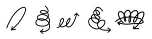 フーチによる霊視の図