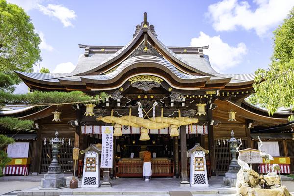 博多の総鎮守お櫛田さん 櫛田神社